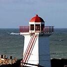 Lady Bay Lower Lighthouse  by cjcphotography