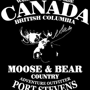Moose - Canada by Port-Stevens