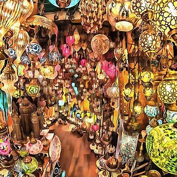 Lanterns, Lamps and Lighting of The Bazaar by taiche