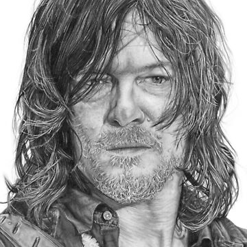 Dixon graphite portrait by DanceKaitoDance