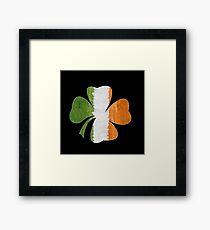 Irish Clover Framed Print