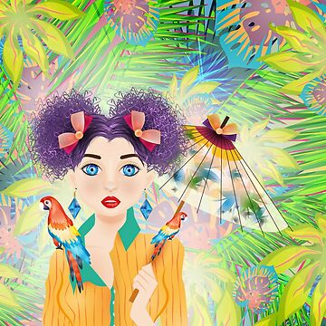 Tropic Girl Design by caitdesign