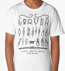 sailing knots Long T-Shirt