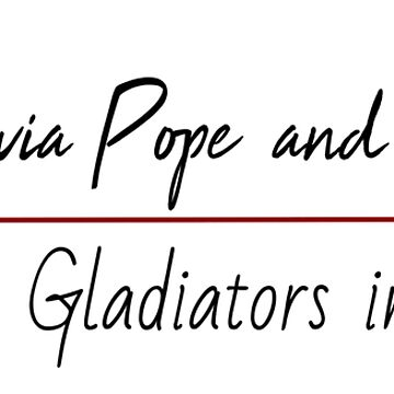 Pope and Associates-Gladiators in suits by KikkaT