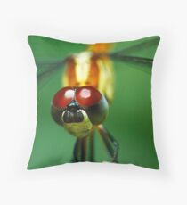 Insectopia by Jules Campbell Throw Pillow