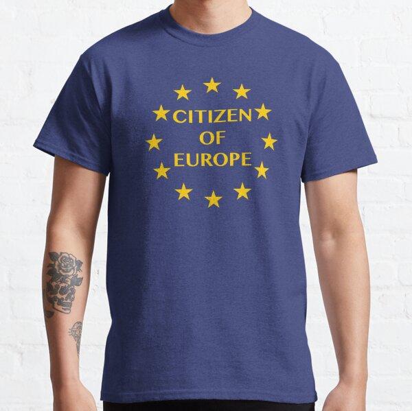 Citizen of Europe Classic T-Shirt
