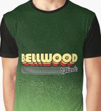 Bellwood, Illinois | Retro Stripes Graphic T-Shirt