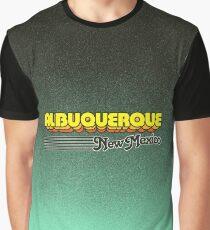 Albuquerque, New Mexico | Retro Stripes Graphic T-Shirt