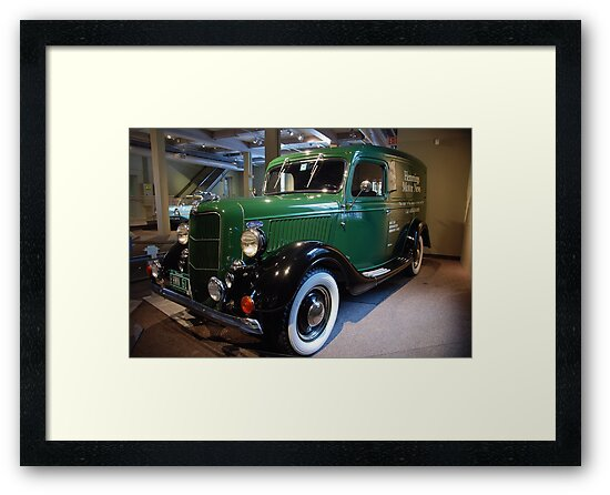 Panel Truck.... 1936 by John Schneider