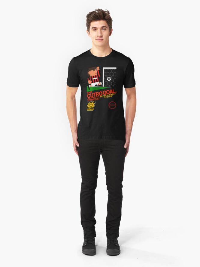 Alternate view of Super Cutro Goal Slim Fit T-Shirt