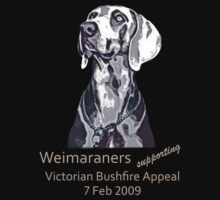 Weimaraners Supporting Bushfire Appeal.