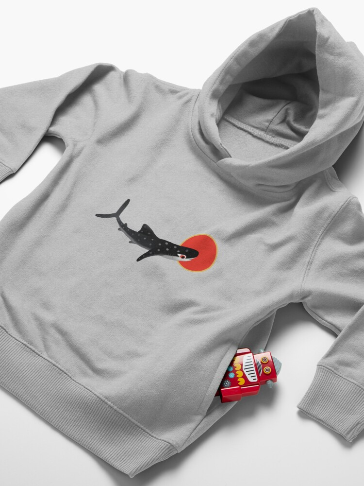 Alternate view of Whale shark Toddler Pullover Hoodie