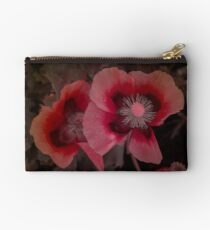 Garden Poppies Studio Pouch