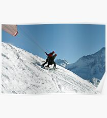 Parapente Take Off Poster
