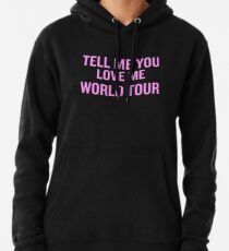 Demi Lovato - Tell Me You Love Me WORLD TOUR Pullover Hoodie