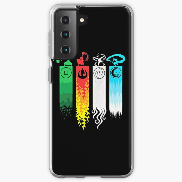Elemental Bending: Avatar Samsung Galaxy Soft Case