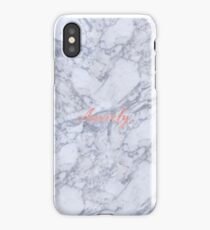 ANXIETY. iPhone Case/Skin
