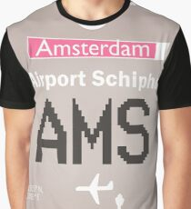 AMS Schiphol design Graphic T-Shirt