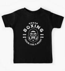 BOXING - TRAIN LIKE A BEAST Kids Tee