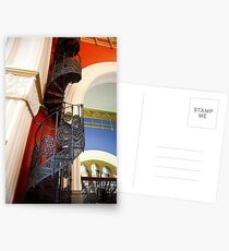 Spiral Stairs QVB Postcards