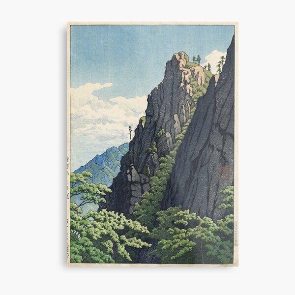 Hasui Kawase - Samburam Rock, Kumgang Mountain Metal Print