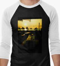 Sunrise at the Beach Men's Baseball ¾ T-Shirt