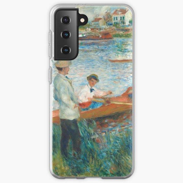 Auguste Renoir, Oarsmen at Chatou, 1879  Samsung Galaxy Soft Case