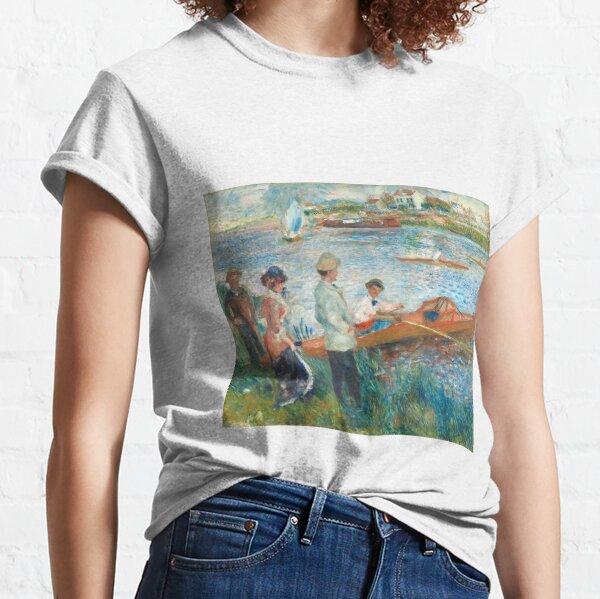 Auguste Renoir, Oarsmen at Chatou, 1879  Classic T-Shirt