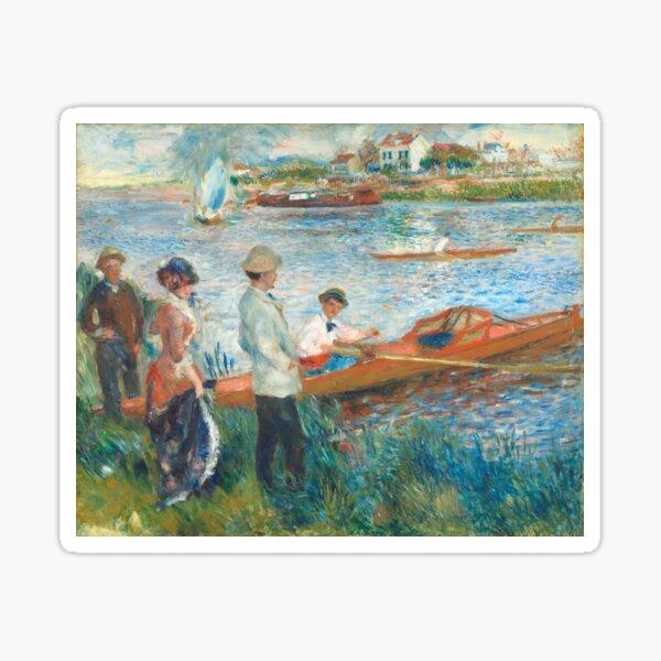 Auguste Renoir, Oarsmen at Chatou, 1879  Sticker