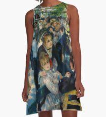 Renoir - Dance at Le Moulin de la Galette, 1876 A-Line Dress
