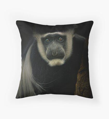 Colobus Throw Pillow