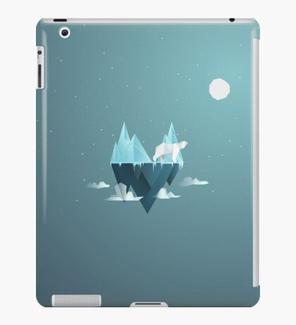 Low Poly Polar Bear iPad Case/Skin