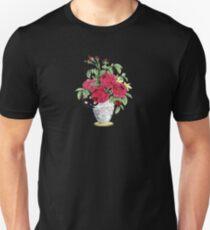 Vase Of Roses Unisex T-Shirt