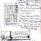 Chemical Warfare Doodle No.2 by santakaoss