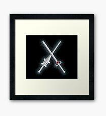 Power Swords Framed Print