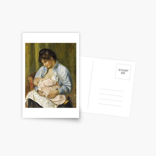 Renoir - A Woman Nursing a Child, 1894 Postcard