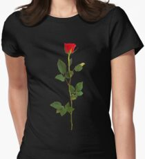 Simple Rosé Women's Fitted T-Shirt