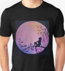 Fairy Moon fairies and the Moon Unisex T-Shirt