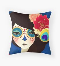 Muertita: Candy Throw Pillow