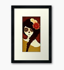Muertita: Autumn Framed Print