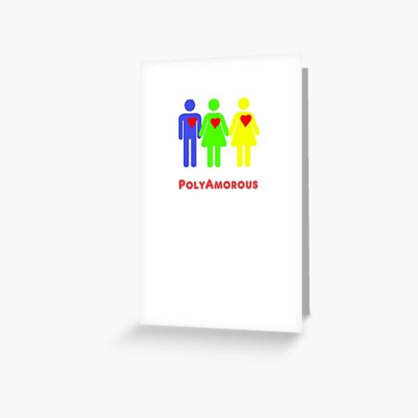Polyamorous Greeting Card