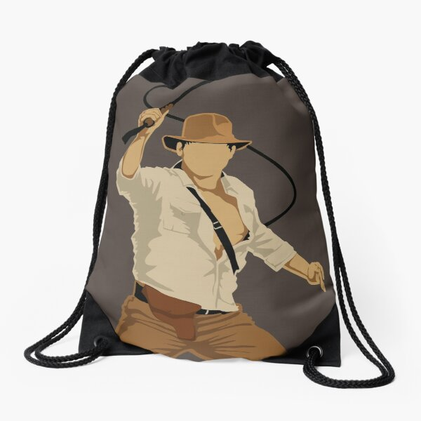 Fortune and Glory Drawstring Bag