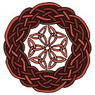 Celtic Knotwork Circle by Carrie Dennison