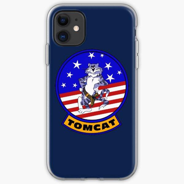 F-14 Tomcat Insignia iPhone Soft Case