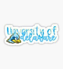 University of Delaware Watercolor Hen Sticker