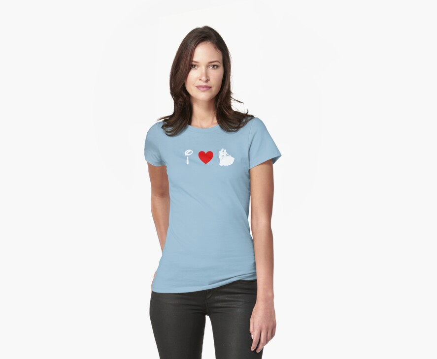 I Heart Happily Ever After (Classic Logo) (Inverted) by ShopGirl91706