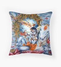Sweet Krishna Floor Pillow