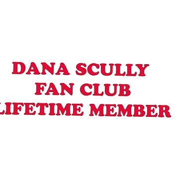dana scully fan club by danascullysgf