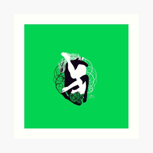 ying and yang Art Print