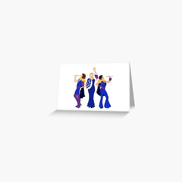 Donna and the Dynamos - Mamma Mia Greeting Card
